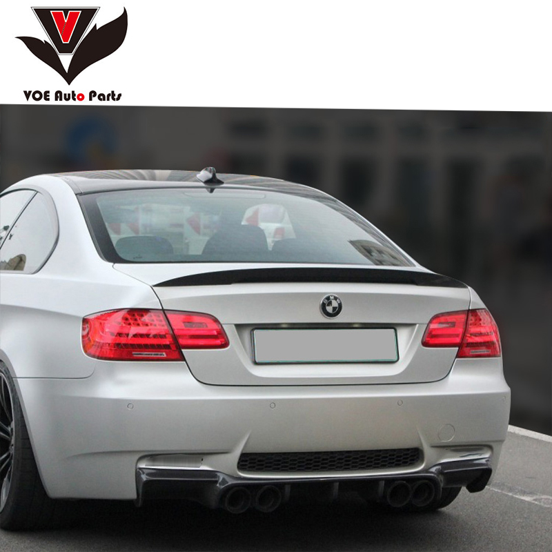 E92 Performance Style ABS Material Rear Wing Lip Spoiler for BMW 3 Series E92 Coupe 2 Door 316i 318i 320i 323i E92 M3 2005 2011