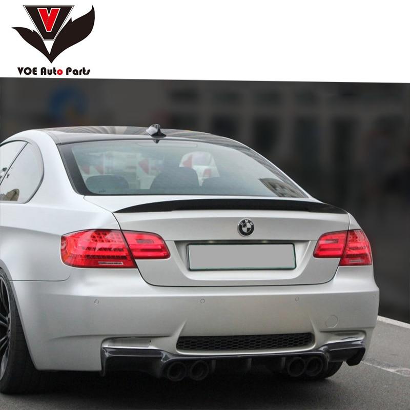 E92 Style de Performance ABS matériau aileron aile arrière pour BMW série 3 E92 coupé 2 portes 316i 318i 320i 323i E92 M3 2005-2011