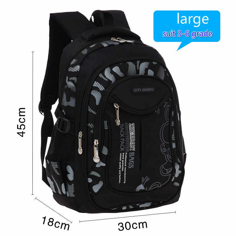 fashion Children School Bags For Boys Children backpacks kids Primary School Backpack Kids orthopedic Schoolbags mochila escolar