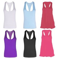 1Pc Women elastic Fitness Sports Tank Top Seamless Blouse Stretch Vest GYM Workout Shirt