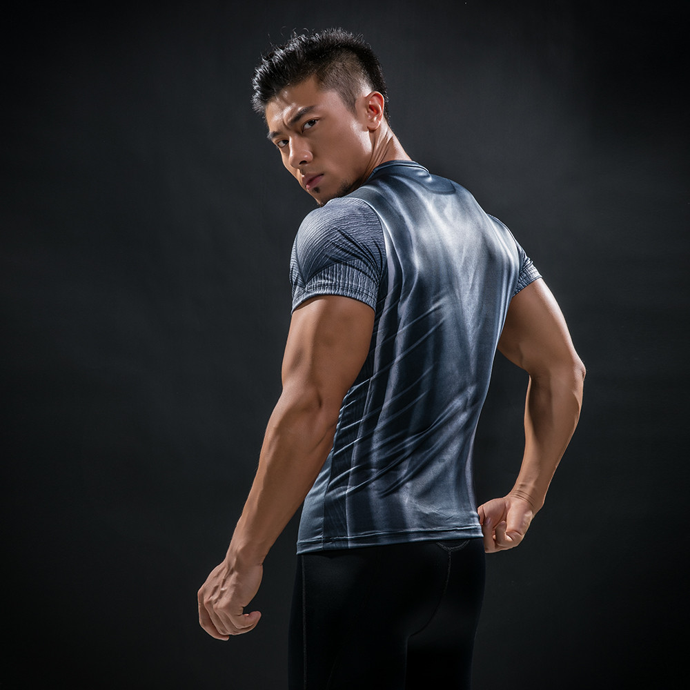 Punisher 3D Printed T-shirts Men Compression Shirts Long Sleeve Cosplay Costume crossfit fitness Clothing Tops Male Black Friday 114