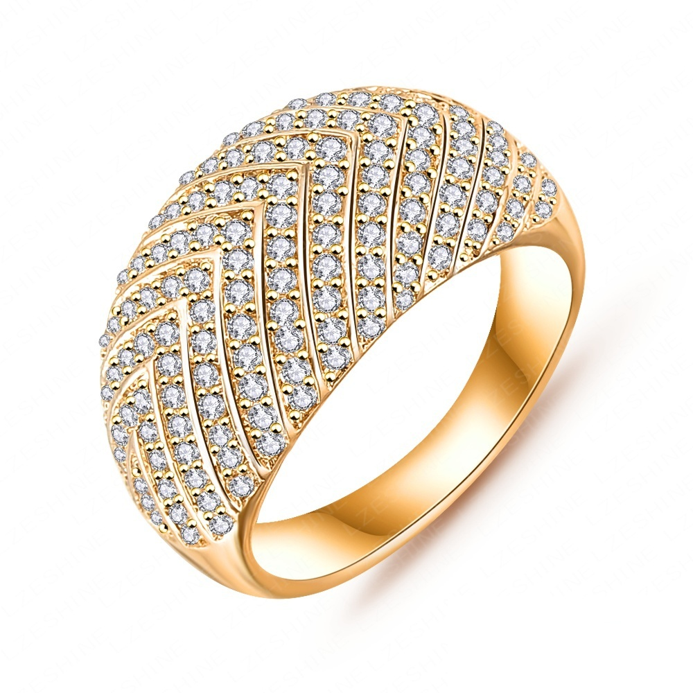 2015 new style arrows motif ring ring new platinum / 18K gold ...