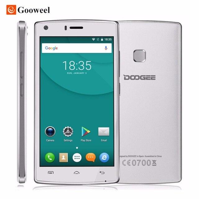 Doogee X5 MAX 3 Г мобильный телефон 5.0 дюймов ips HD MTK6580 Quad Core смартфон 1 ГБ RAM 8 ГБ ROM Сотовый Телефон 4000 мАч отпечатков пальцев