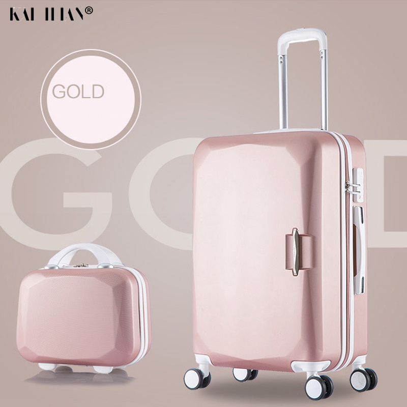 24''26 Inch High Capacity Rolling Luggage Set Spinner Students Password Suitcase On Wheels 20 Inch Carry On Trolley Travel Bag