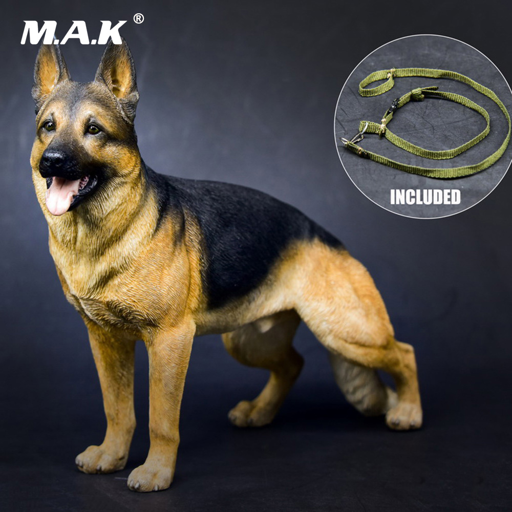1/6 Scale Action Figure Accessories Working Dog Series German Shepherd Collar Anime Statue for 12 inches Action Figure mnotht 1 6 action figure panzer third