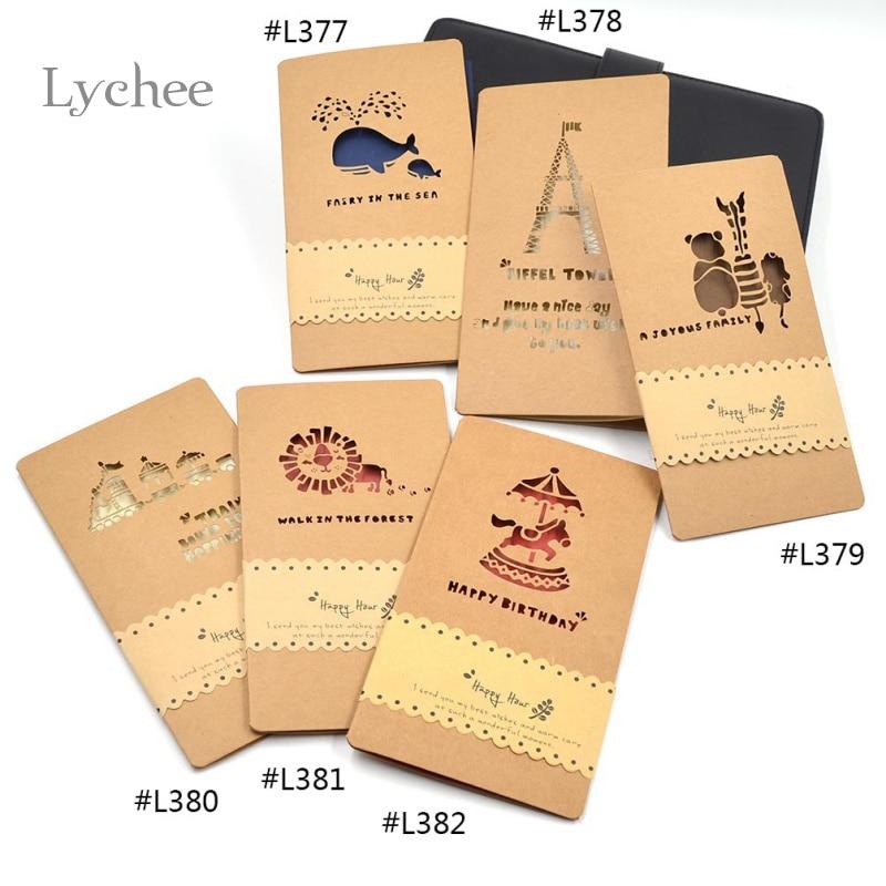 Buy vintage hollow out envelopes kraft for Craft paper card stock