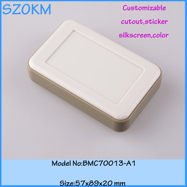 1 piece free shipping abs plastic handheld control box diy acrylic case box boxes plastic instrument