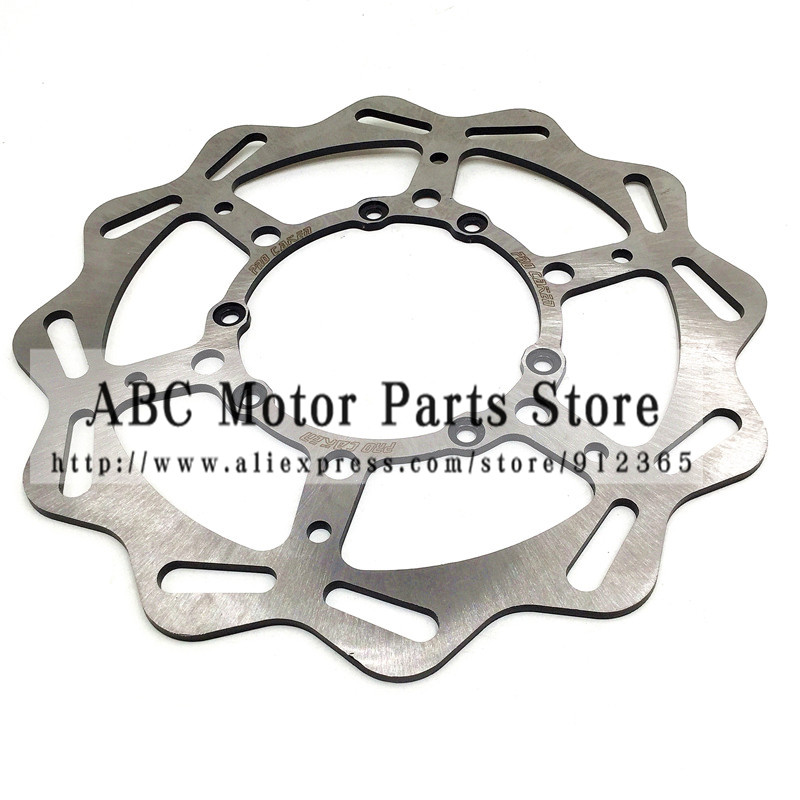 270MM Front Brake Disc Rotor CR CRF CR125 CR250 CR500 CRF250R CRF250X CRF450R CRF450X Motocross Enduro Supermotard Dirt Bike crf250r 250x 450r 450x dirt bike motocross enduro modify cnc billet part brake reservoir cover brake hose clamp engine plugs kit