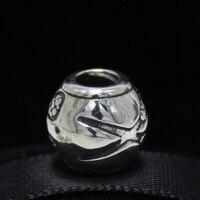 ROCKART 925 Sterling Silver Bạc Tennis Racket Charm Bead Phù Hợp Châu Âu Nhãn Hiệu Bracelet & Necklace Diy Trang Sức Làm