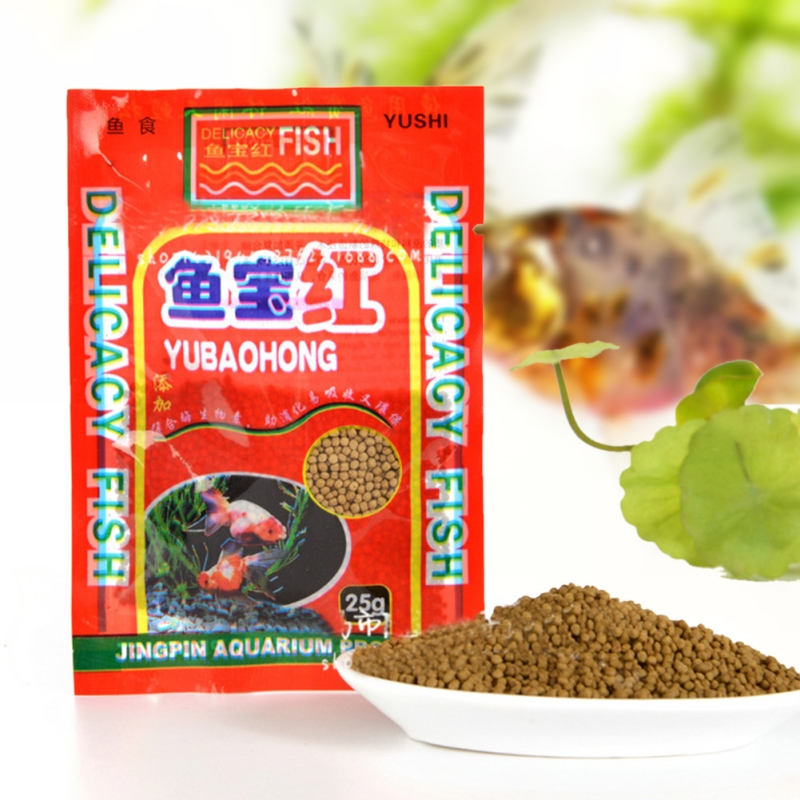 25g/Pack Aquarium Fish Food Tetra Flakes For Tropical Fish Marine Ornamental Fish Small Goldfish Koi Feeding Food