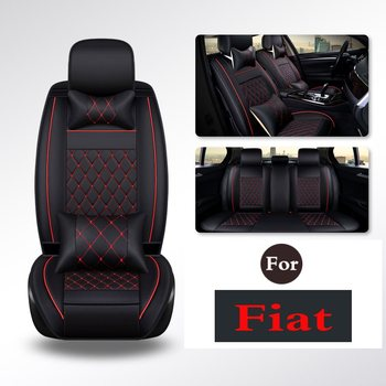Supplies Office Chair PU leather luxury car seat cushion cover universal Easy to Clean Anti-Slip For Fiat Viaggio Ottimo