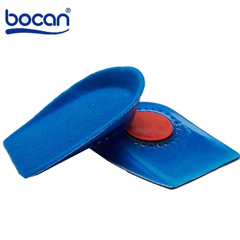 Shoe Insoles Heels Spur Insoles Silicone Gel Plantar Fasciitis Heel Protector Heel Spur Cushion Pad Shoe Inserts new fashion unisex soft rubber gel pain heel spur cup insoles support shoe cushion inserts for man shoe pad quality fm0994