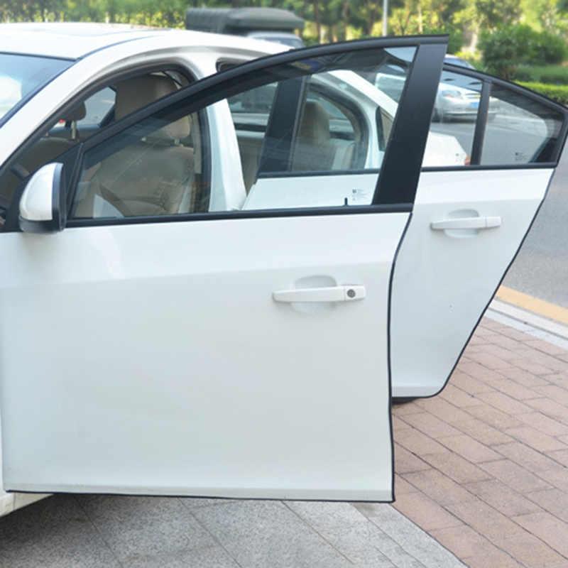 Xe Chống Va Chạm Side Door Cạnh Bảo Vệ Chống va chạm Dán Dải Tàng Hình Con Dấu cho Audi BMW Volkswagen Ford SUV an Toàn tự động