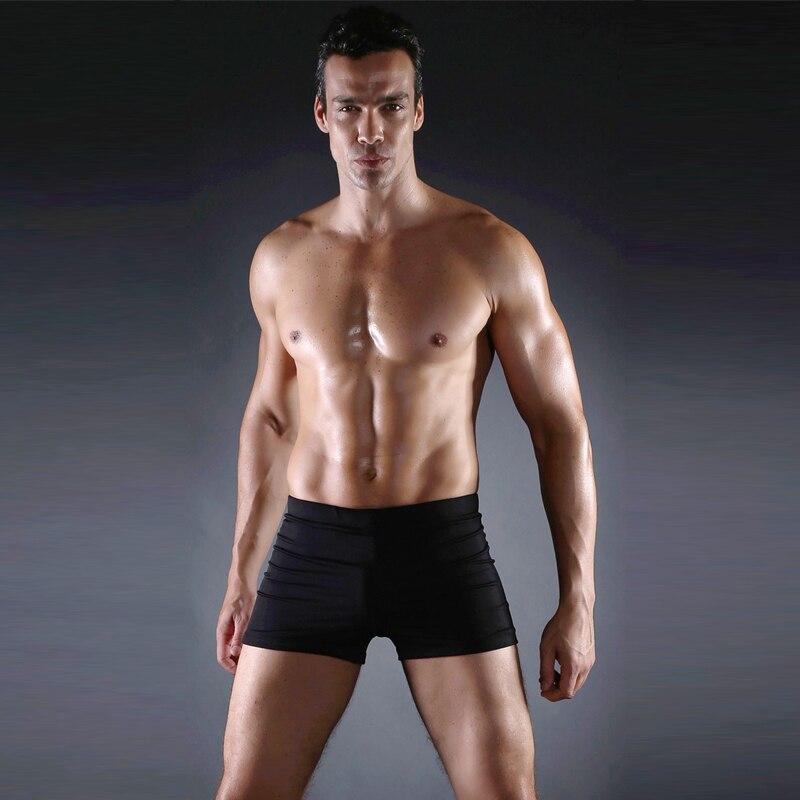 b7a2c566a0 Hot Sell Male Lycra Elasticit Blue black Beach surfing swim Shorts Mens  Sweatpants Board Men swim