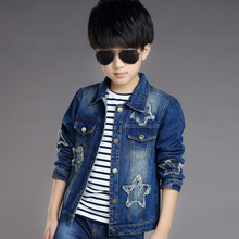 Spring Autumn Children Denim Jacket Casual Style Kids unisexed denim jacket Outerwear Coat Teens Boy Girls Fashion Clothing