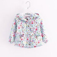 Autumn Baby Girls Coat Casual Fashion Casaco Kids Clothes Toddler Girl Jacket Infantil Next Outerwear Cardigan