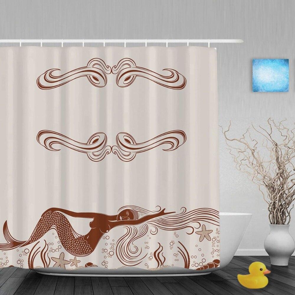 Little mermaid shower curtain target - Get Mermaid Bathroom Curtain Aliexpress Little Mermaid Shower
