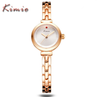KIMIO Brand Luxury Exquisite Gold Stainless Steel Business Ladies Bracelet Watches Fashion Casual Relogios Women Quartz