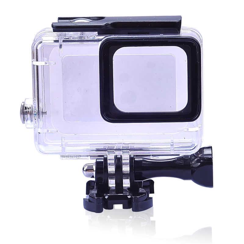 Закаленное стекло Водонепроницаемый Дайвинг 150ft корпус протектор чехол для Gopro Hero 5 6 7 Спорт Экшн камеры аксессуары F3126
