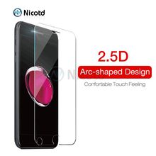 Tempered Glass for iPhone 8 plus Screen Protector Film for iPhone 7 Plus Glass for iPhone X SE 5 5S Tough Protection Glass Cover