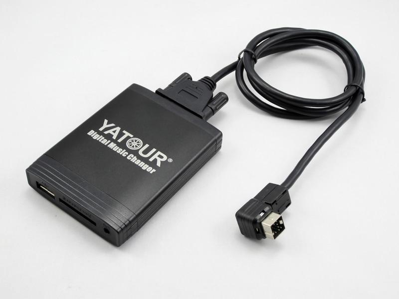 цена на Yatour car audio MP3 Player for Suzuki Grand Vitara SX4 Swift Jimny USB SD AUX PS-2681H PS-2428D PS-2656D Bluetooth Adapter