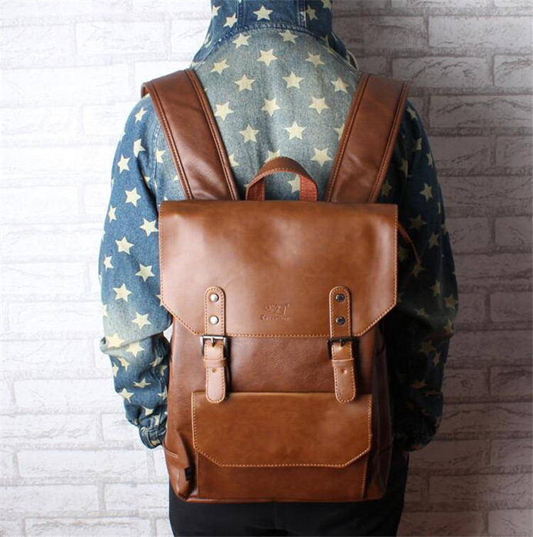 men leather backpack03