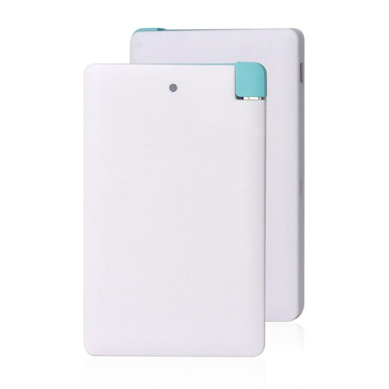 2018 3C Ultra Fino Powerbank 4000mAh Carregador Portátil de Bateria Externa de Backup Mobile Power Power Bank Para xiaomi iPhone 4/ 4S 6/5 6s