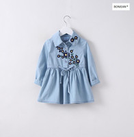 31361939 Wholesale 2017 New Spring Girls Blouses Solid Embroidery Flower Girls Tops Lolita Kids Clothes Supplier