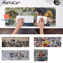 лучшая цена MaiYaCa New Arrivals One Piece Large Mouse pad PC Computer mat Rubber PC Computer Gaming mousepad