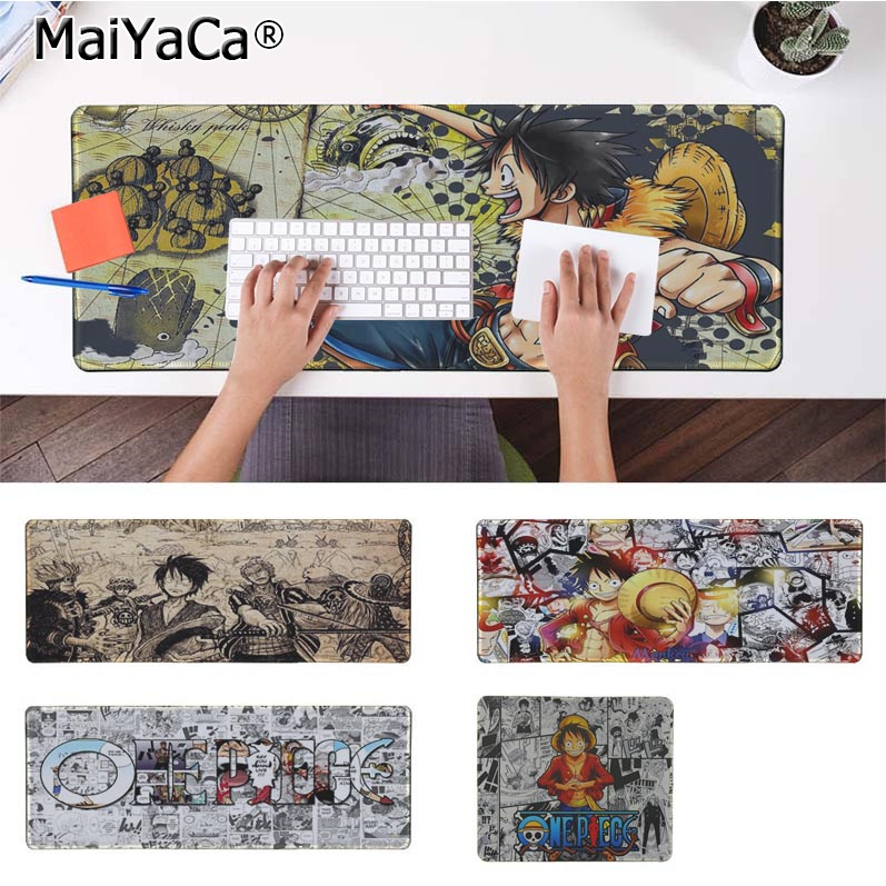 MaiYaCa New Arrivals <font><b>One</b></font> <font><b>Piece</b></font> Large <font><b>Mouse</b></font> <font><b>pad</b></font> PC Computer mat Rubber PC Computer Gaming mousepad image