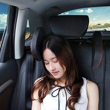 Подушка для шеи на подголовник автомобильного сиденья, стильная подушка для шеи на подголовник сиденья, для безопасности, для путешествий