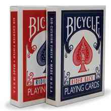 Puzzle Garden Original Bicycle Poker 1 pcs Blue or Red Bicycle Playing Cards Rider Back Standard