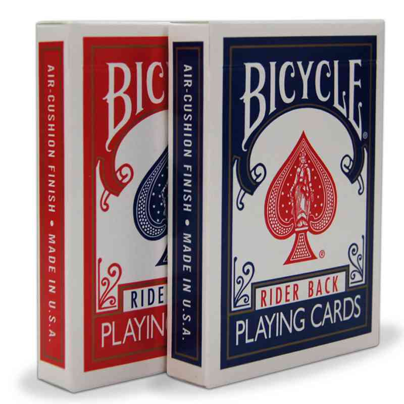 Puzzle font b Garden b font Original Bicycle Poker 1 pcs Blue or Red Bicycle Playing