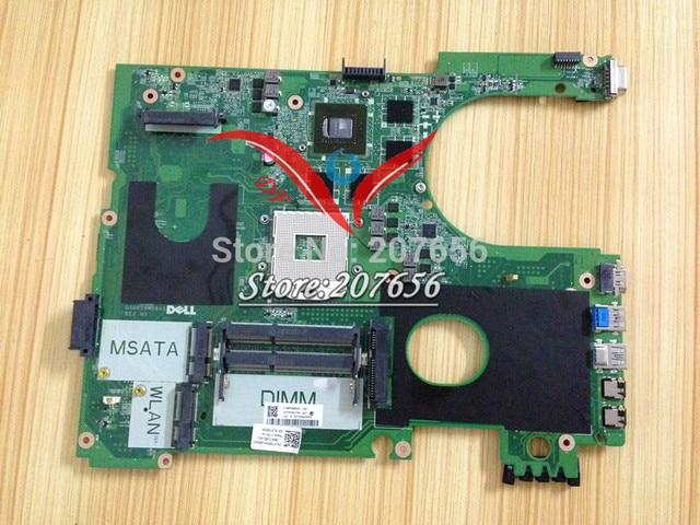 Mpt5m da0r09mb6h1 rev h cn-0mpt5m para dell inspiron 17r 7720 laptop motherboard geforce gt650m hd4000 testado