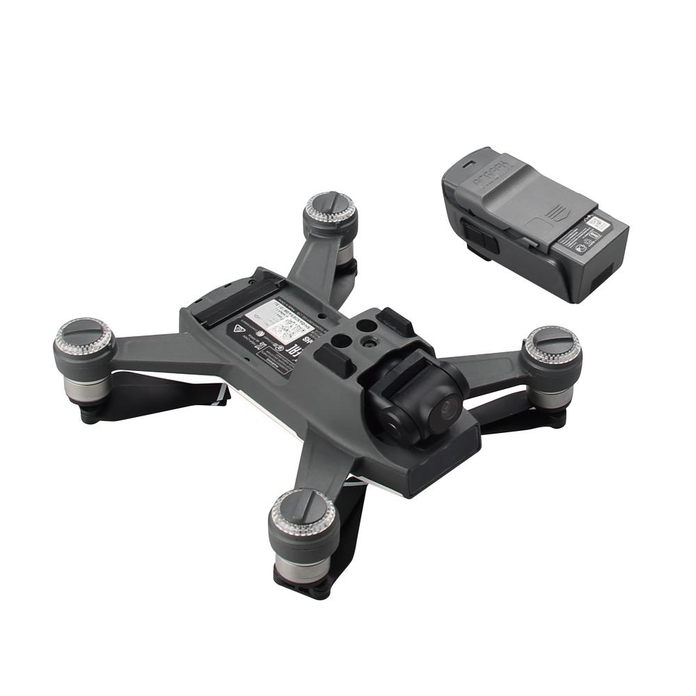4pcs set 1pcs Drone Port Cap + 3pcs Battery Charger Port Cover Board Dust-proof Short Circuits Protection Guard For  DJI SPARK 1 (7)