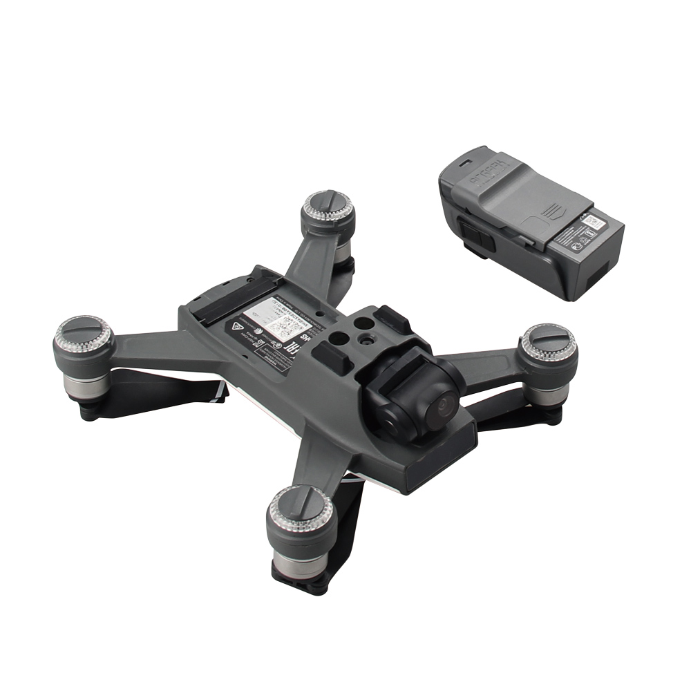 4pcs set 1pcs Drone Port Cap + 3pcs Battery Charger Port Cover Board Dust-proof Short Circuits Protection Guard For  DJI SPARK 1 (7)