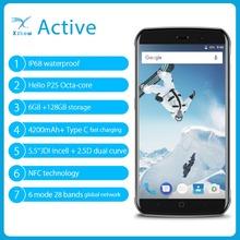 vernee Active Mobile Phone Rugged Smartphone IP68 Waterproof Android 7 0 Phone 6GB 128G 5 5