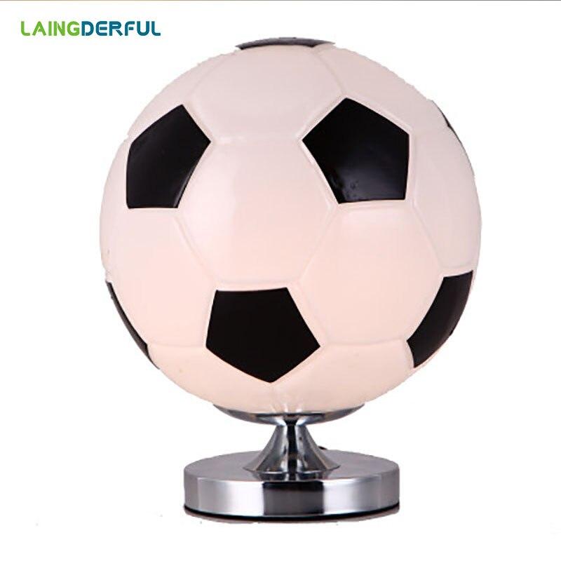 Lampe de Football lampe d'impression lampe de Football veilleuse de basket-ball veilleuse magique chambre Table lumière pour enfants