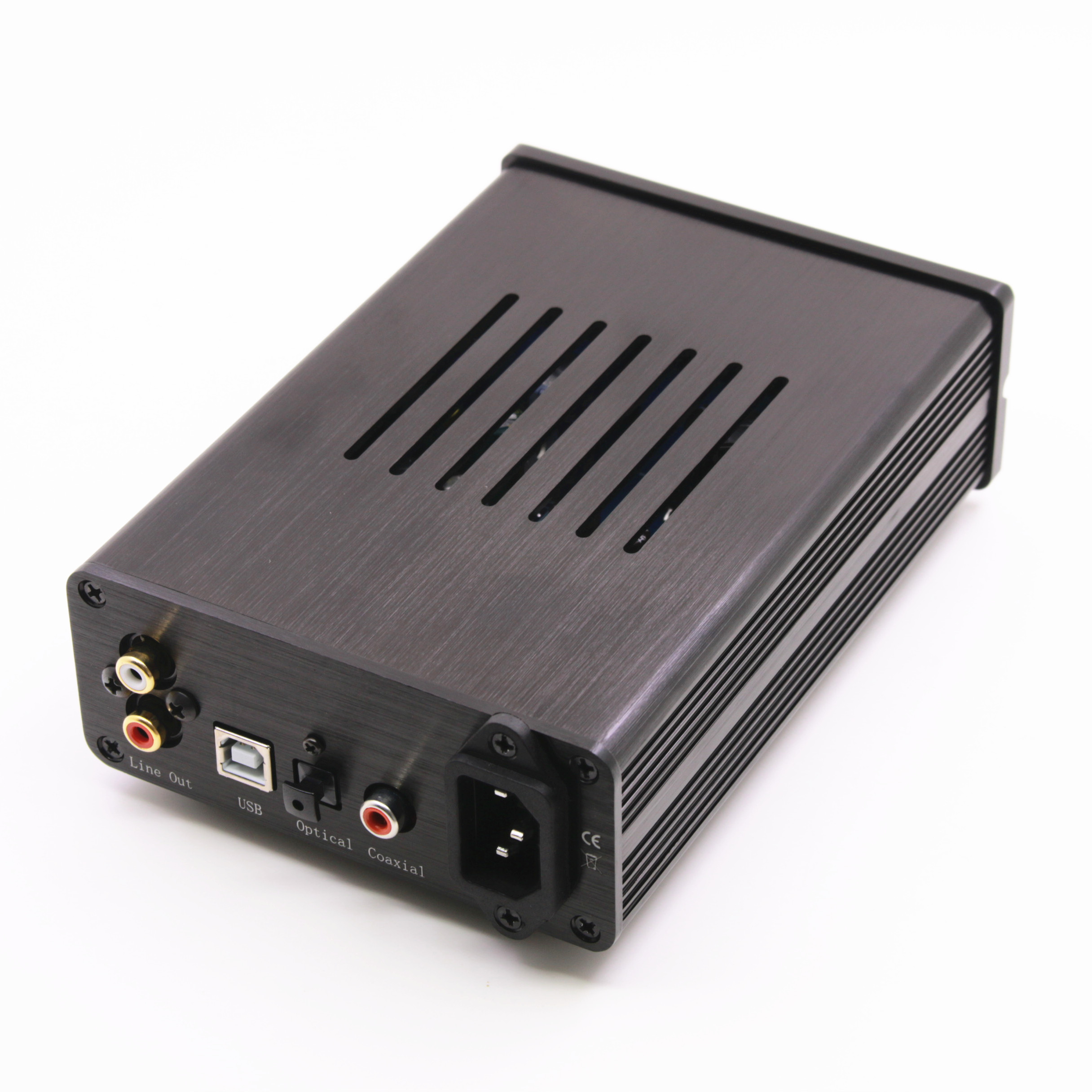HiFi DAC Audio Decoder AD1852 Digital to Analog Converter Coaxial//Optical//USB