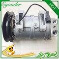 Zexel DKS15CH AC компрессор кондиционера охлаждающий насос 24V 1B для экскаваторов HITACHI KENKI 5060119910 4456130 2039796831 2039796831