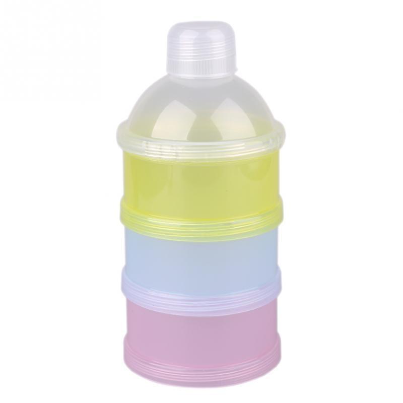 Mutter & Kinder Aufbewahrung Von Säuglingsmilchmischungen 4 Schicht Baby Milch Pulver Container Tragbare Formel Lebensmittel Lagerung Dispenser 4 Schicht Machen Up