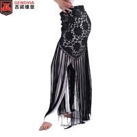 Belly Dance Costume Tribal Tassel Hip Scarf Wrap Belt Skirt Fringes 6 Colors