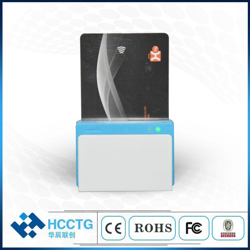 Lecteur de carte de crédit Mobile NFC + IC + MSR tout en un bluetooth lecteur de carte à puce RFID carte magnétique pour android et iOS MPR110