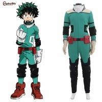 Boku no Hero Akademia Cosplay My Hero Academia Izuku Midoriya Costume Deku Battle Halloween Carnival Clothes Custom Made