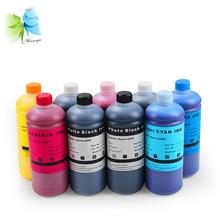 Winnerjet 1000ml/bottle Waterproof Pigment ink For Epson Surecolor P600 P800 printer