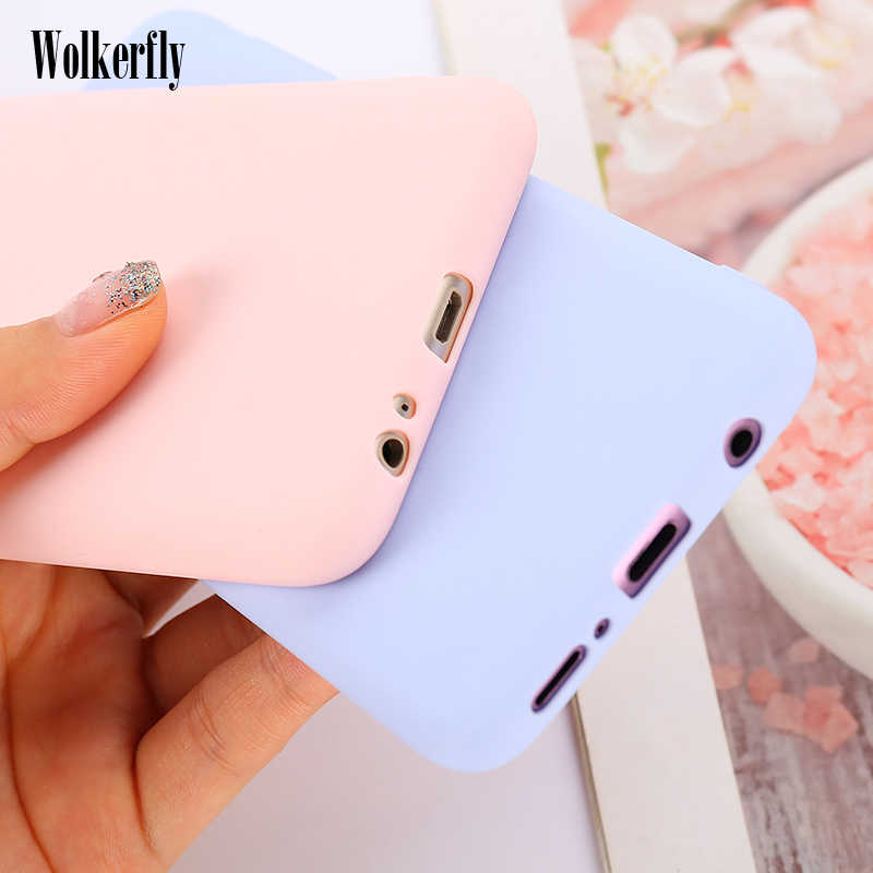 Silicon Candy Color Case for Samsung Galaxy S10 Plus S10E J4 J6 J8 A8 A6 Plus A9 A7 2018 S8 S9 A10 A20 A30 A40 A50 A60 A70 2019