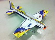 Free Shipping RC plane Extra300 EPS F3P Techone Hobby KIT Version