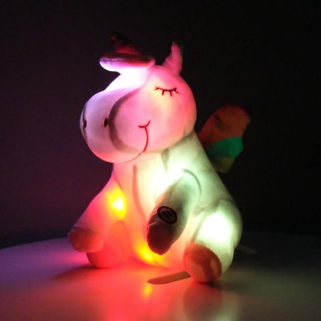 Glowing Unicorn Plush Toys
