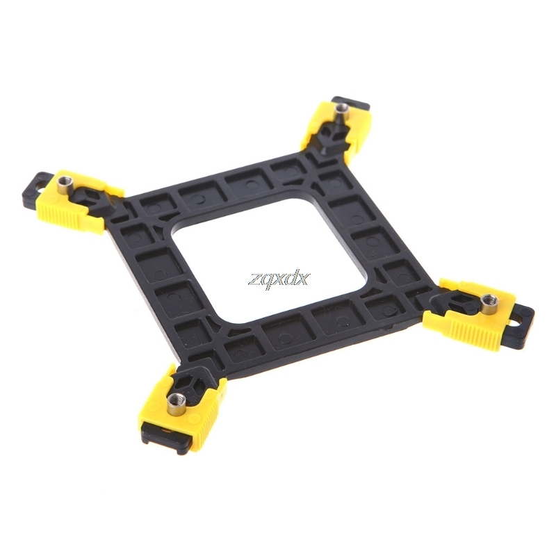 New Multi-Platform 775/1155/1156/1366 CPU Backplane Desktop Computer Common Backplate CPU Cooler Bracket Z17 Drop ship