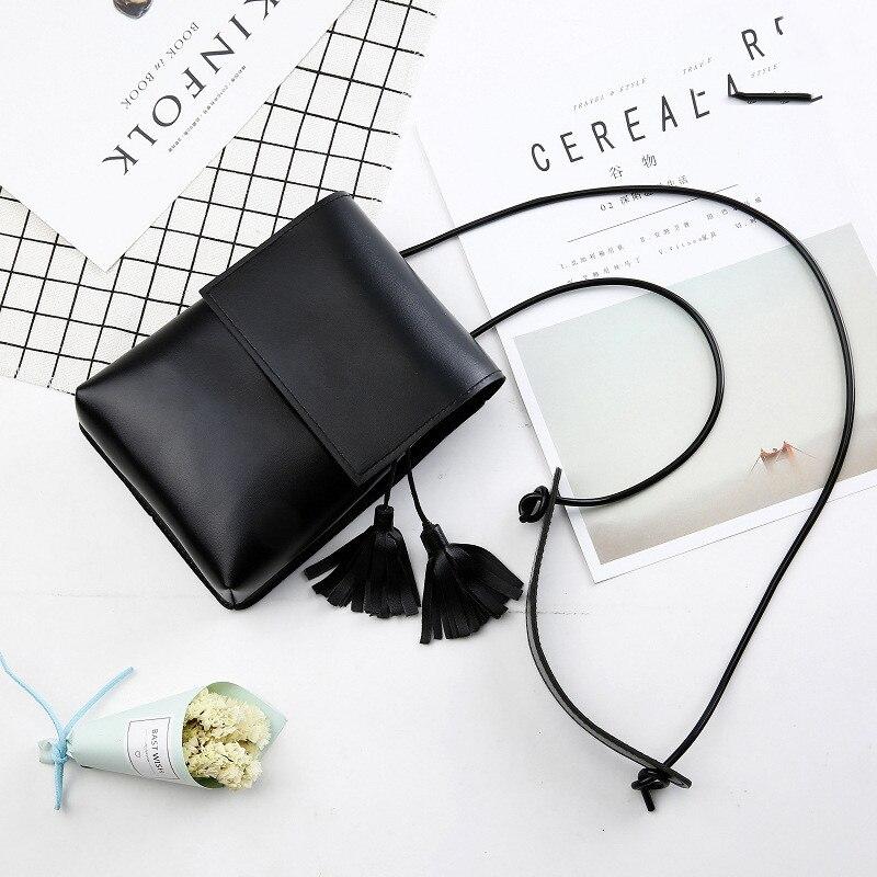 2019 Sell Well Fashion Women Tassel Messenger Bag High Quality Shoulder Bag Simple Crossbody Bag Tote shoulder bag